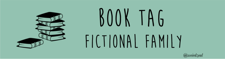 Fictional Family Book Tag