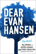 Image result for dear evan hansen book cover