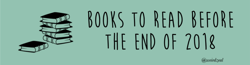 Books to read before the end of2018