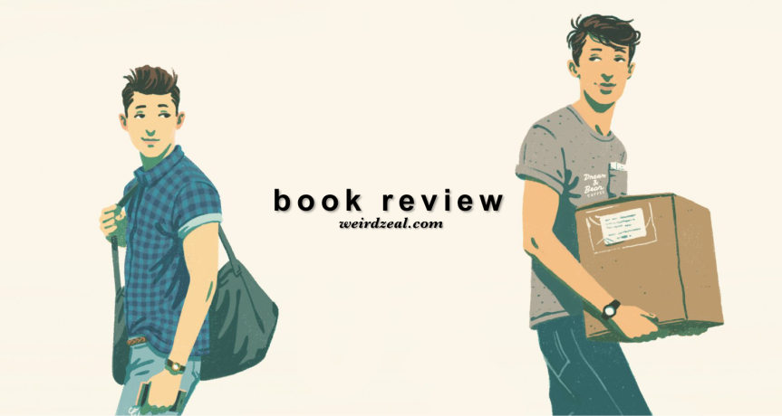 Review: What If It's Us by Becky Albertalli and Adam Silvera | a meet-cute for theages