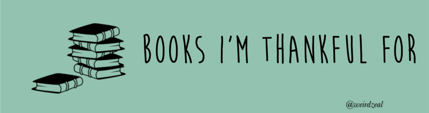 5 books I'm thankfulfor