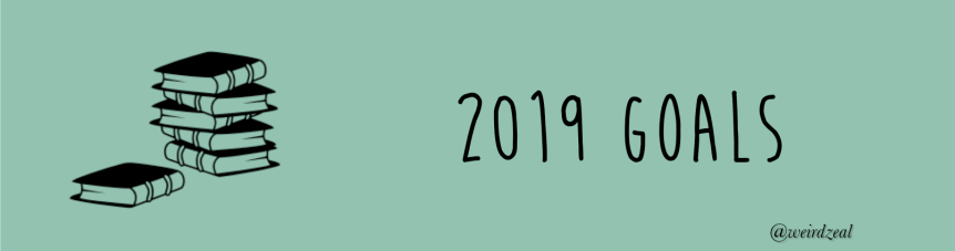 2019 goals: reading and blogging