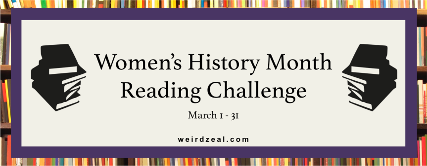 Women's History Month Reading Challenge ANNOUNCEMENT | #WHMReadingChallenge