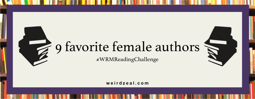 9 favorite female authors | #WHMReadingChallenge