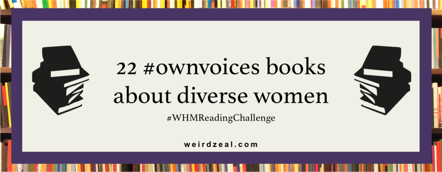 22 #ownvoices books about diverse women | #WHMReadingChallenge