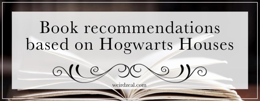 Book recommendations based on HogwartsHouses