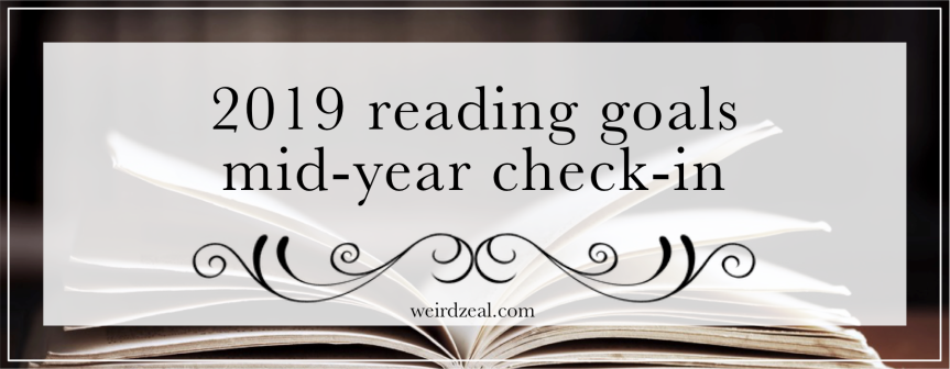 Reading goals mid-year check-in