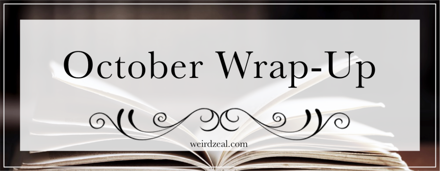 October Wrap-Up | reading spooky books + meeting favorite authors