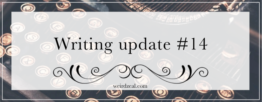 Writing update #14 | my writing in 2019 + 2020 plans