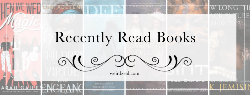 Recently Read Books | sequels, novellas, and black SFF