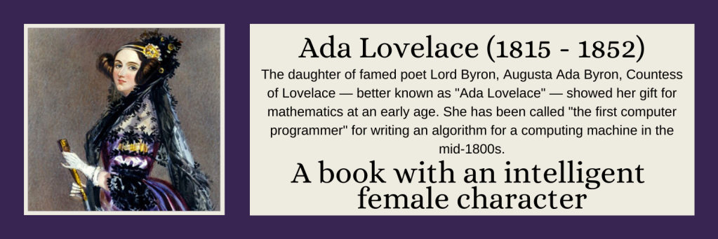 Ada Lovelace - A book with an intelligent female character