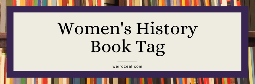 Women's History Book Tag (ORIGINAL)