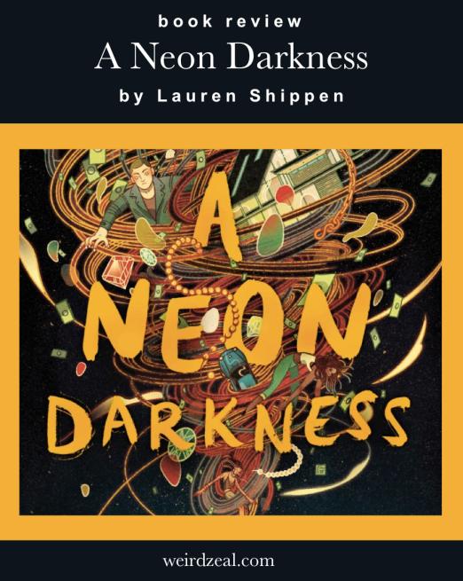 neon darkness pin