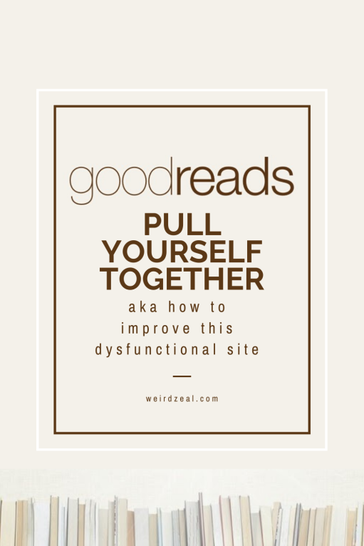 goodreads pin